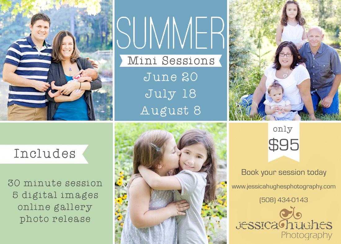Central MA Summer Mini Sessions