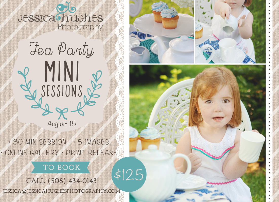 Tea Party Mini Sessions