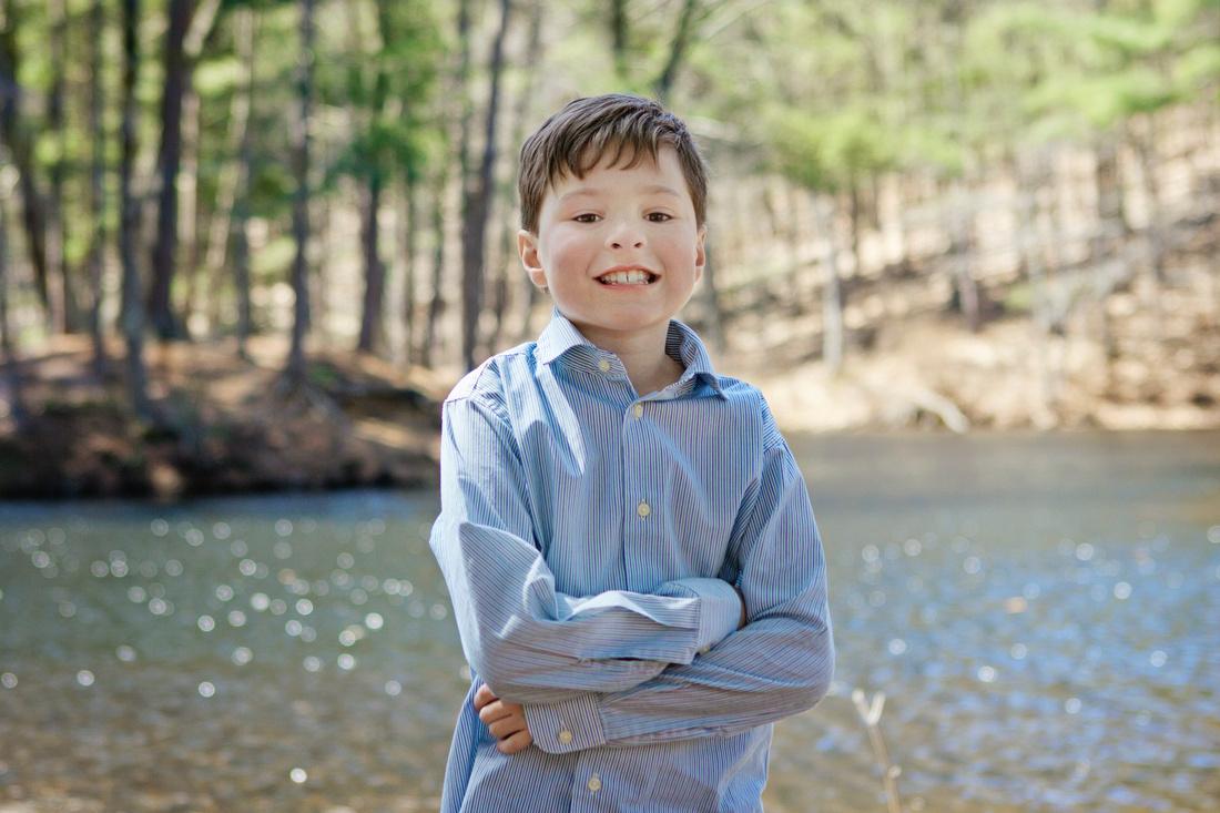 Spencer, MA Spring Portrait Session
