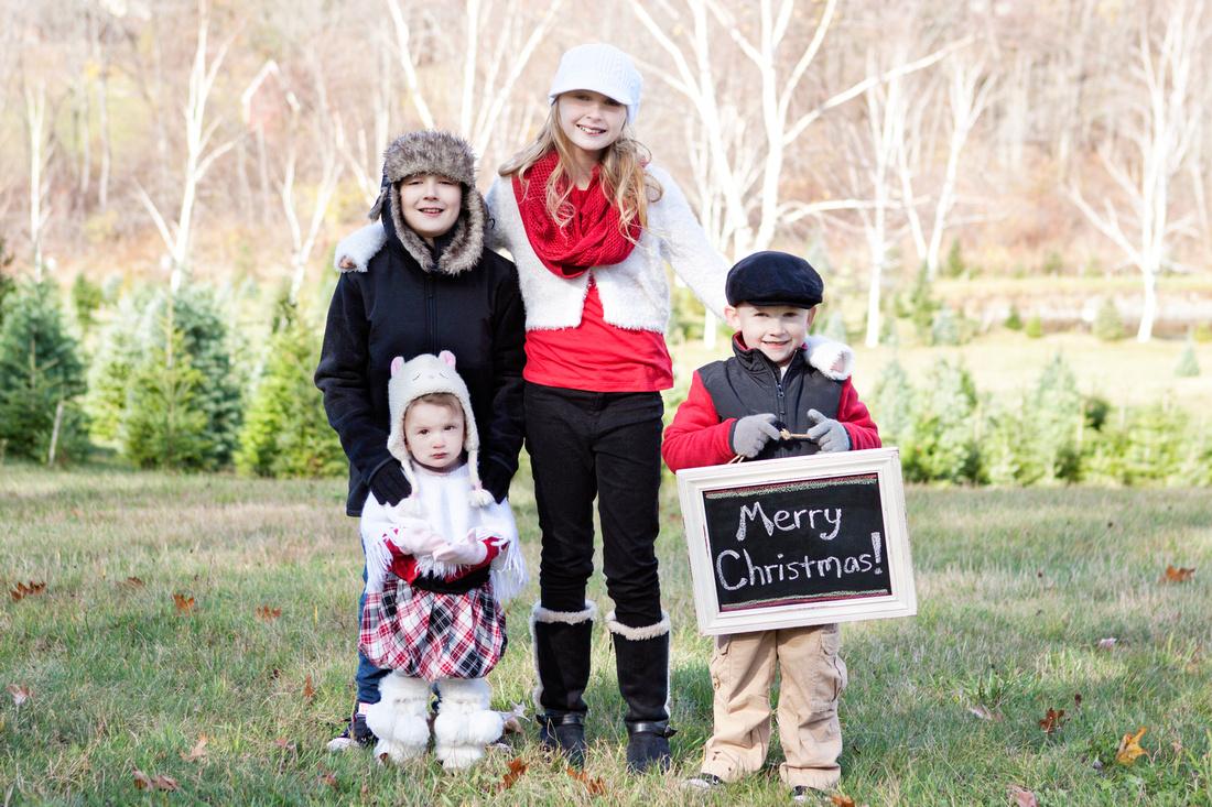 Auburn, MA Christmas Mini Session